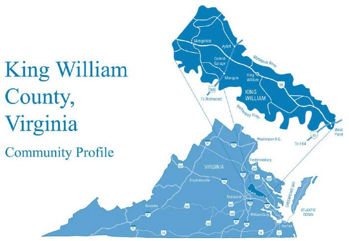 King William County Community Profile Map